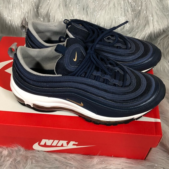 610ab32af5 Nike Shoes | Air Max 97 Navy Size 65y 8 Womens | Poshmark